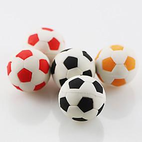 preiswerte Gifts for Soccer Fans-niedlichen Fußball Fußball montieren Radiergummi Schule Schüler Kinder Geschenk