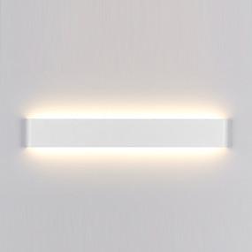 cheap Indoor Wall Lights-Modern Minimalist LED Aluminum Lamp Bedside Lamp Bathroom Mirror Light Direct Creative Aisle