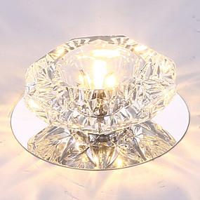preiswerte Einbauleuchten-Unterputz Raumbeleuchtung Andere Metall Kristall, LED 110-120V / 220-240V Wärm Weiß / Kühl Weiß / RGB LED-Lichtquelle enthalten / integrierte LED
