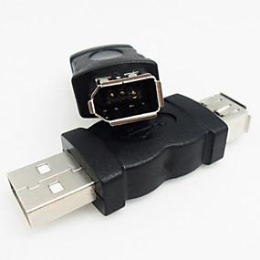 preiswerte Computer & Büro-USB 2.0 auf Firewire / IEEE-1394-Adapter von hoher Qualität und langlebig