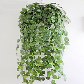 preiswerte Up To 80% Off For Home Decor-Künstliche Blumen 1 Ast Simple Style Pflanzen Tisch-Blumen