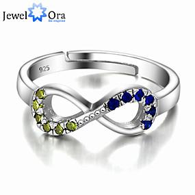 billige Vintage Ring-tommelfingerring Skjermfarge Sølv Uvanlig Unikt design Smykker