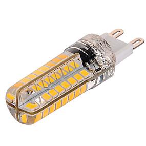 billige Kornpærer med LED-1pc 10 W LED-kornpærer 1000 lm G9 T 72 LED perler SMD 2835 Mulighet for demping Varm hvit Kjølig hvit 220-240 V / 1 stk. / RoHs