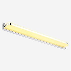 preiswerte Heim-Moderne zeitgenössische Badezimmerbeleuchtung Metall Wandleuchte IP67 110-120V / 220-240V / integrierte LED