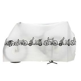 preiswerte Fahrradabdeckung-Fahrradabdeckung Wasserdicht Nylon Radsport Geländerad Rennrad Radsport / Fahhrad Weiß Grau