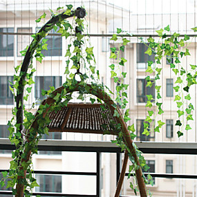 cheap Artificial Plants-Polyester European Style Vine Wall Flower Vine 1