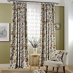 cheap Curtains & Drapes-Custom Made Blackout Blackout Curtains Drapes Two Panels For Living Room