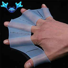 preiswerte Swim Aids-Aquatic Handschuhe Silikon High-Speed Schwimmen für Kinder Erwachsene