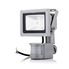 cheap Outdoor Lighting-JIAWEN 10W 800lm LED Floodlight Outdoor Lighting 1 leds High Power LED Sensor Warm White Cold White AC 85-265V