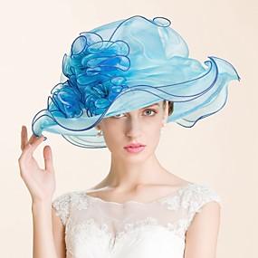 povoljno Melbourne Cup Carnival Hats-Drago kamenje i kristali / Organza Kentucky Derby Hat / kape / Headpiece s Kristal 1 Vjenčanje / Special Occasion / Zabava / večer Glava
