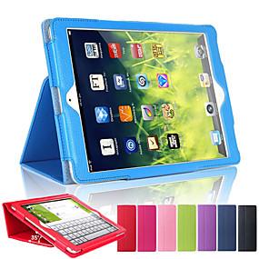preiswerte Tablet Zubehör-Hülle Für Apple iPad Mini 5 / iPad New Air (2019) / iPad Air mit Halterung / Automatischer Ruhe / Aktivmodus Ganzkörper-Gehäuse Solide Hart PU-Leder / iPad (2017)