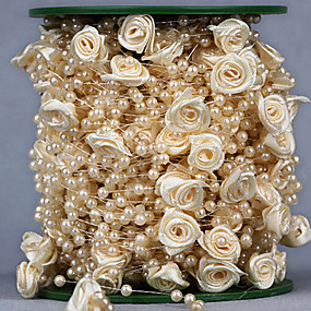 povoljno Darovi i pokloni za zabave-Kreativan Other Ribbon Umjetno drago kamenje Vjenčanje Vrpce - 1 Komad / set Organza Ribbon Jedinstven svadbeni dekor Mašnica za dar