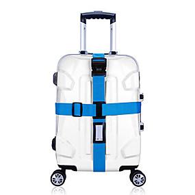 preiswerte Reise & Gepäckzubehör-1 Stück Gepäckriemen Schloss mit Codierung Langlebig Einstellbar Koffer Accessoires für Langlebig Einstellbar Koffer Accessoires Purpur