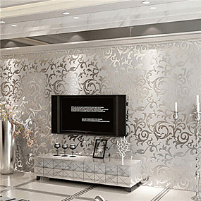 cheap Valentine's Day-Wallpaper Non-woven Paper Wall Covering - Adhesive required Art Deco
