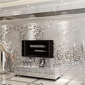 preiswerte Wand- & Ölbilder-Art Deco Haus Dekoration Moderne Wandverkleidung, Nicht-gewebtes Papier Stoff Klebstoff erforderlich Tapete, Zimmerwandbespannung