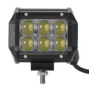 preiswerte Autolicht-6pcs Auto Leuchtbirnen 30 W 3000 lm 36 LED Arbeitsscheinwerfer Für