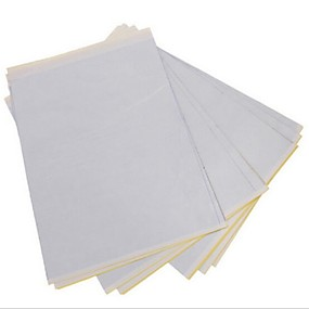 cheap Tattoo Transfers & Supplies-BaseKey 50 Sheets x Tattoo Thermal Carbon Stencil Transfer Paper Tracing Kit A4