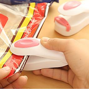 preiswerte Dekorationen-tragbare Tasche Clips Handheld Mini elektrische Heißsiegelmaschine Impuls Sealer Seal Verpackung Plastiktüte Arbeit