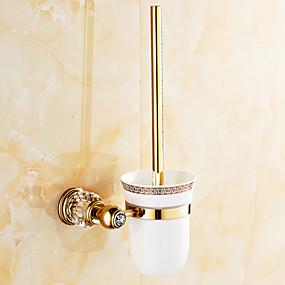 preiswerte Toilettenbürstenhalter-WC-Bürstenhalter Neoklassisch Zinklegierung 1 Stück - Hotelbad