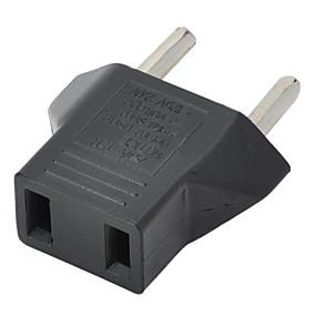 preiswerte 3save10% 5save20%-US-Stecker auf eu-Stecker-Adapter - schwarz