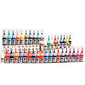 economico Tatuaggi e body art-basekey 28 colore dell'inchiostro del tatuaggio 28x 5 ml