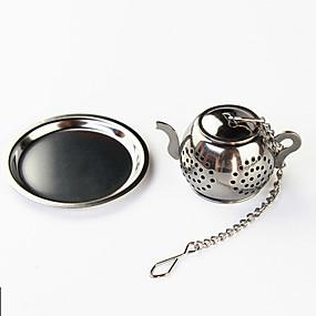 preiswerte Küche & Utensilien-Teekanne Tee-Ei mit Mini-Plattenfilter aus Edelstahl