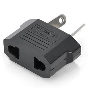 preiswerte Hauptplatine-us / eu-Plug-Australien-Reise-Stecker-Adapter zu verdichten - schwarz