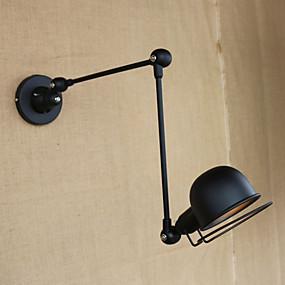 cheap Indoor Wall Lights-Modern / Contemporary Swing Arm Lights Metal Wall Light 110-120V / 220-240V 4W