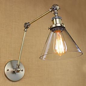 povoljno Lámpatestek-Rustic / Lodge Svjetla za osvjetljavanje Metal zidna svjetiljka 110V / 110-120V / 220-240V 40W
