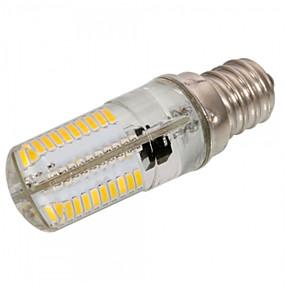 preiswerte Ausverkauf-1pc 4 W 300-350 lm E12 / E17 / E11 LED Mais-Birnen T 80 LED-Perlen SMD 3014 Abblendbar / Dekorativ Warmes Weiß / Kühles Weiß 220-240 V / 110-130 V / 1 Stück / RoHs
