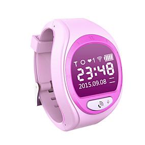 cheap Smart Watches-Unisex Connector Digital GPS Watch Digital Blue Pink / Rubber