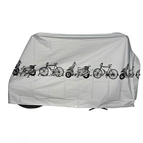 preiswerte Fahrradabdeckung-Fahrradabdeckung Für Fahhrad Synthetik Wasserdicht / Windundurchlässig / Staubdicht Radsport Weiß