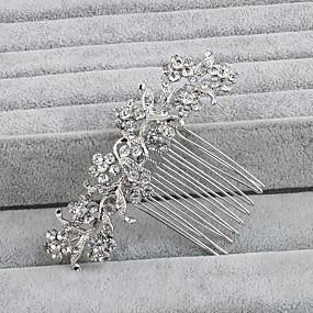 povoljno Nakit za vjenčanje i izlaske-Umjetno drago kamenje Kose za kosu s 1 Vjenčanje / Special Occasion / Kauzalni Glava