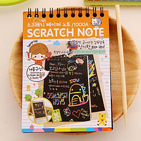 cheap Gift&Stationery-Scratch Paper DIY Drawing Note(1 PCS S)