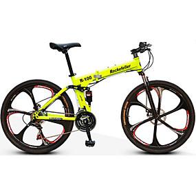 preiswerte Cycling Clearance-Geländerad / Falträder Radsport 21 Geschwindigkeit 26 Zoll / 700CC Doppelte Scheibenbremsen Federgabel Hintere Federung Rutschfest Aluminiumlegierung / Stahl / ja / #