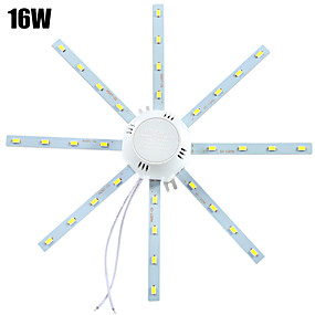 preiswerte LED Einbauleuchten-YWXLIGHT® 1pc 16 W 1280 lm 32 LED-Perlen SMD 5730 Dekorativ Kühles Weiß 220-240 V / 1 Stück / RoHs