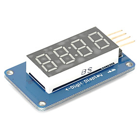 preiswerte Bildschirme-4 Bit-Digital-Rohr-LED-Display-Modul mit Uhranzeige tm1637 für Arduino Raspberry Pi