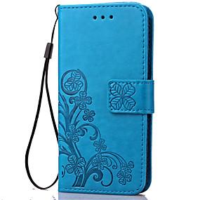 povoljno Maske za mobitele-Θήκη Za Samsung Galaxy S5 Mini / S4 Mini / S3 Mini Novčanik / Utor za kartice / sa stalkom Korice Cvijet Mekano PU koža