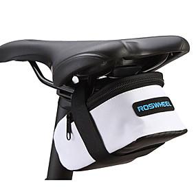 preiswerte ROSWHEEL®-Rosewheel Fahrrad-Sattel-Beutel Multifunktions Wasserdicht tragbar Fahrradtasche PVC 600D Polyester Tasche für das Rad Fahrradtasche Radsport / Fahhrad