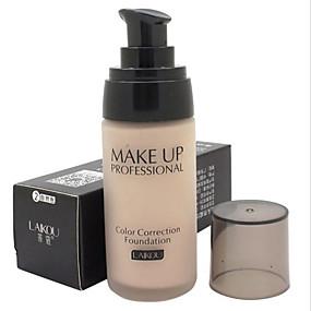 preiswerte Maquiagem & Cuidados Com a Pele-Einfarbig Concealer Grundierungen 1 pcs Wasserdicht / Atmungsaktiv / Weiß machen Gesicht Natürlich Bilden Kosmetikum