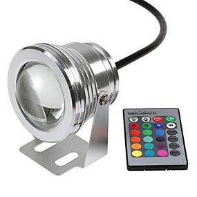 cheap Outdoor Lighting-Submersible Lights Underwater Lights Waterproof Remote Controlled Remote-Controlled RGB 12 V LED Beads