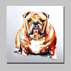 preiswerte Pop Art Ölgemälde-Hang-Ölgemälde Handgemalte - Pop - Art Modern Mit der Fassung