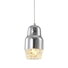 povoljno Viseća rasvjeta-Ecolight™ Privjesak Svjetla Downlight Chrome Metal LED 90-240V Meleg fehér / Bijela Bulb Included / Integrirano LED svjetlo