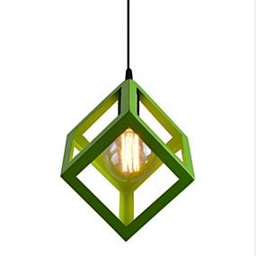 preiswerte Mini-Stil Pendelleuchten-geometrische pendelleuchte umgebungslicht lackiert metall mini stil 110-120 v / 220-240 v lampe nicht enthalten / e26 / e27