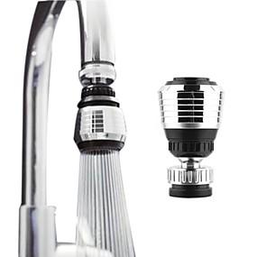 preiswerte Renovierung-360 rotierende Küche Wasserhahn Düse Adapter Bad Wasserhahn Zubehör Filterspitze Wasser sparende Gerät