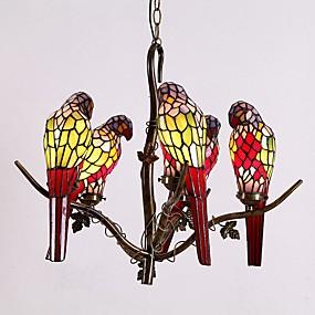 povoljno Tiffany rasvjeta-Lusteri Ambient Light - LED dizajneri, Tiffany, 110-120V 220-240V, Žuta, Bulb not included