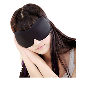cheap Travel Comfort-Travel Eye Mask / Sleep Mask 3D Breathability Seamless Travel Rest 1 set Traveling Fabric Cotton