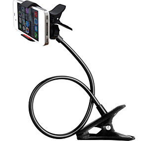 billige Universelt tilbehør-svanehals telefon holder for iphone 11 / 11pro / 11pro max samsung galaxy s20, mobiltelefon klipp holder for soverom desktop kontor bad kjøkken, roter fritt lat brakettholder