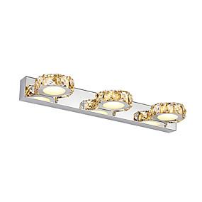povoljno Lámpatestek-kristal / led / moderne / suvremene zidne svjetiljke& sconces metalni zid svjetlo 90-240v 3w svjetlo ispraznost