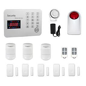 preiswerte Sensoren & Alarmanlagen-433MHz Kabellose Tastatur SMS Handy 433MHz GSM